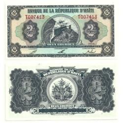 (260) Haití. 1992. 2 Gourdes (SC)
