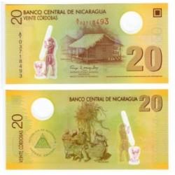 Nicaragua. 2007. 20 Córdobas (SC)