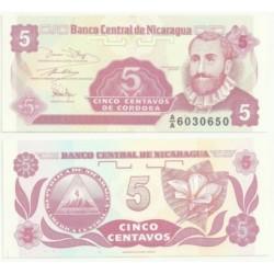 (168) Nicaragua. 1991. 5 Centavos (SC)