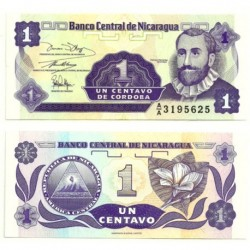 (167) Nicaragua. 1991. 1 Centavo (SC)