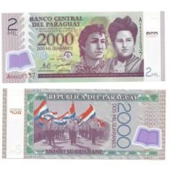 Paraguay. 2008. 2000 Guaranies (SC)