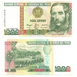 (136b) Perú. 1988. 1000 Intis (SC)