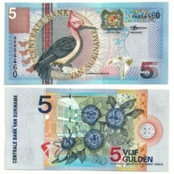 (146) Surinam. 2000. 5 Gulden (SC)