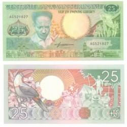 (132.b) Surinam. 1988. 25 Gulden (SC)