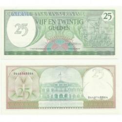 (127b) Surinam. 1985. 25 Gulden (SC)