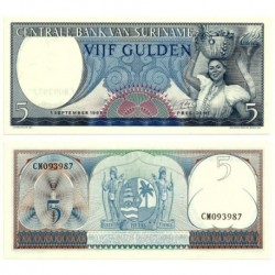 (120) Surinam. 1963. 5 Gulden (SC)