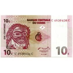 (82a) Congo. 1997. 10 Centimes (SC)