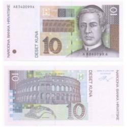 (36a) Croacia. 1995. 10 Kuna (SC)