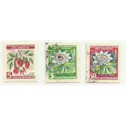 Uruguay. Mini Serie de Flores