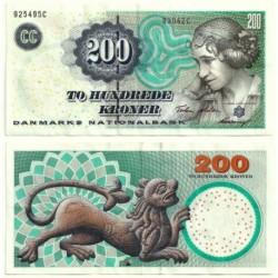 (62c) Dinamarca. 2004. 200 Kroner (MBC)