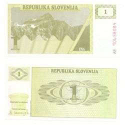 (1) Eslovenia. 1990. 1 Tolar (SC)