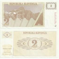 (2) Eslovenia. 1990. 2 Tolarjev (SC)