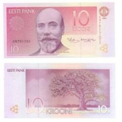 (77.a) Estonia. 1994. 10 Krooni (SC)