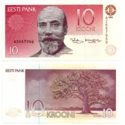 (72b) Estonia. 1992. 10 Krooni (SC)