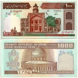 (138f) Irán. 1982-02. 1000 Rials (SC)