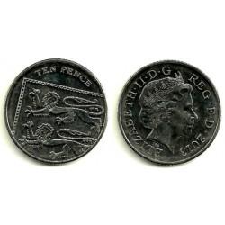 Gran Bretaña. 2013. 10 Pence (MBC)