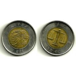 (78) Etiopía. 2010. 1 Birr (SC)