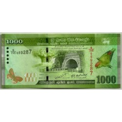 (127) Sri Lanka. 2010. 1000 Rupees (SC)