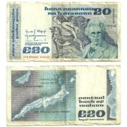 (73.b) Irlanda. 1986. 20 Pounds (RC)