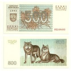 (46) Lituania. 1993. 500 Talonnu (SC)