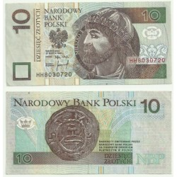 (173) Polonia. 1994. 10 Zlotych (EBC)