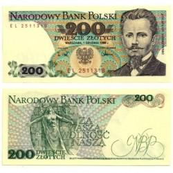 (144c) Polonia. 1988. 200 Zlotych (SC)