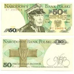 (142c) Polonia. 1988. 50 Zlotych (SC)
