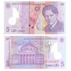 (118.a) Rumania. 2005. 5 Lei (SC)