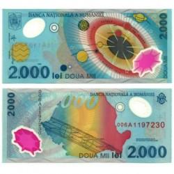 (111) Rumania. 1999. 2000 Lei (SC)