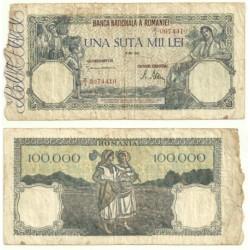 (58) Rumania. 1945. 100000 Lei (RC)