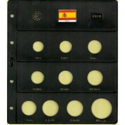 Hoja para Euros 10 Alojamientos (España-2016)