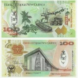 Papúa Nueva Guinea. 2008. 100 Kina (SC)