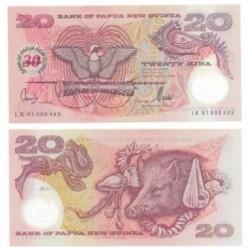 (27) Papúa Nueva Guinea. 2004. 20 Kina (SC)