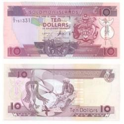 Islas Salomón. 10 Dollars (SC)
