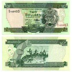 (18) Islas Salomón. 1997. 2 Dollars (SC)