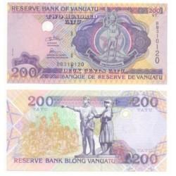 (8) Vanuatu. 1995. 200 Vatu (SC)