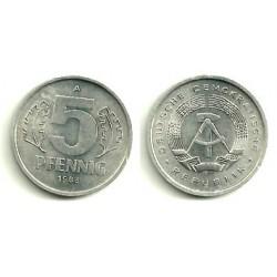 (9.2) Alemania Democrática. 1983(A). 5 Pfennig (SC)