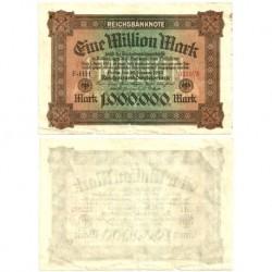 (86a) Imperio Alemán (Weimar). 1923. 1 Million Mark (BC)