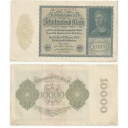 (72) Imperio Alemán (Weimar). 1922. 10000 Mark (MBC)