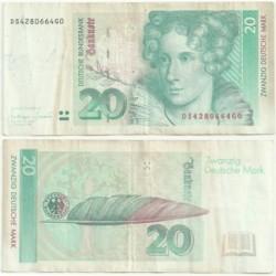 (39) Alemania. 1993. 20 Mark (BC)