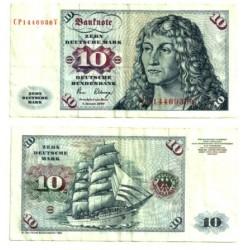 Alemania. 1980. 10 Mark (BC)