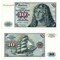 (31a) Alemania. 1970. 10 Mark (SC)