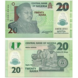 (2009) Nigeria. 2009. 20 Naira (SC)