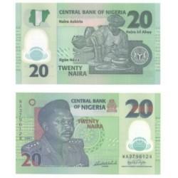 Nigeria. 2007. 20 Naira (SC)