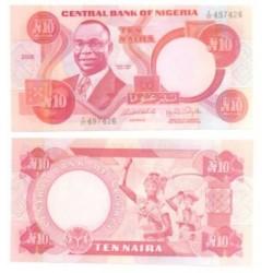 (25) Nigeria. 2005. 10 Naira (SC)