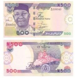 (30) Nigeria. 2001. 500 Naira (SC)