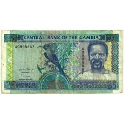 (18a) Gambia. 1996. 25 Dalasis (BC-)