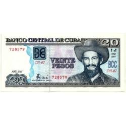 (122b) Cuba. 2005. 20 Pesos (SC)