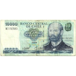 (157c) Chile. 2004. 10000 Pesos (BC)