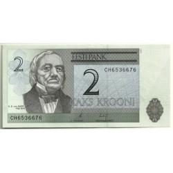 (85b) Estonia. 2007. 2 Krooni (SC)